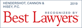 Best Lawyers 2019: Hendershot, Cannon & Hisey, P.C.